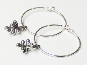 Twisting Pair 1 in Raw Silver