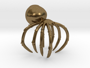 Spider Ring  in Raw Bronze