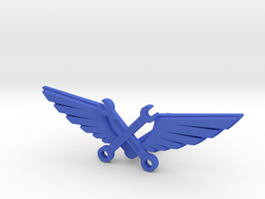 Wrenches & wings in Blue Processed Versatile Plastic