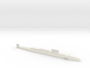 HMS Resolution SSBN, 1/2400 in White Natural Versatile Plastic