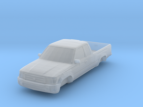 ho scale 1998-2000 toyota tacoma in Smooth Fine Detail Plastic