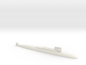 USS George Washington SSBN, 1/1800 in White Natural Versatile Plastic