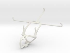 Controller mount for PS3 & Asus Google Nexus 7 (20 in White Natural Versatile Plastic