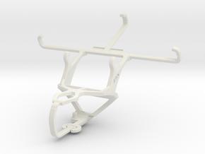 Controller mount for PS3 & BlackBerry Z30 in White Natural Versatile Plastic