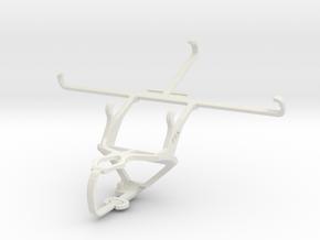 Controller mount for PS3 & Lenovo Golden Warrior N in White Natural Versatile Plastic