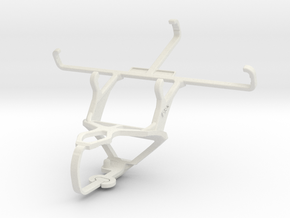 Controller mount for PS3 & Motorola Moto G (2014) in White Natural Versatile Plastic