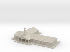 MRBC Miniature in Natural Sandstone