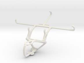 Controller mount for PS3 & Oppo N1 in White Natural Versatile Plastic