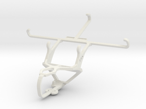 Controller mount for PS3 & Samsung Galaxy Note 4 D in White Natural Versatile Plastic