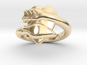 Cupido Ring 19 - Italian Size 19 in 14K Yellow Gold