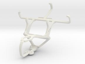 Controller mount for PS3 & Alcatel Pixi 3 (3.5) in White Natural Versatile Plastic