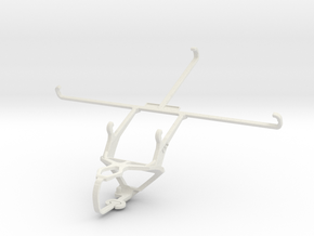 Controller mount for PS3 & Asus Fonepad 8 FE380CG in White Natural Versatile Plastic