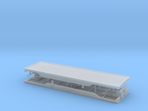 1/64th 28' outside frame flatbed doubles in Smooth Fine Detail Plastic