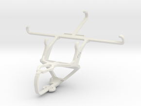 Controller mount for PS3 & Lenovo Golden Warrior S in White Natural Versatile Plastic