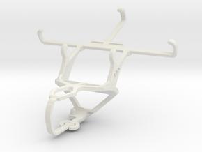 Controller mount for PS3 & LG G2 mini LTE (Tegra) in White Natural Versatile Plastic