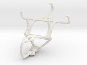 Controller mount for PS3 & LG Optimus L1 II Tri E4 in White Natural Versatile Plastic