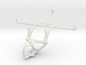 Controller mount for PS3 & Maxwest Gravity 6 in White Natural Versatile Plastic