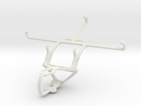 Controller mount for PS3 & Maxwest Orbit 6200T in White Natural Versatile Plastic
