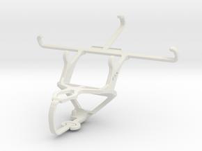 Controller mount for PS3 & Meizu m2 in White Natural Versatile Plastic