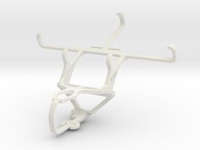 Controller mount for PS3 & Motorola Moto G (3rd ge in White Natural Versatile Plastic