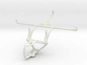 Controller mount for PS3 & Prestigio MultiPhone 76 in White Natural Versatile Plastic