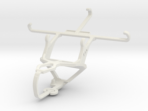 Controller mount for PS3 & Samsung Galaxy A3 Duos in White Natural Versatile Plastic