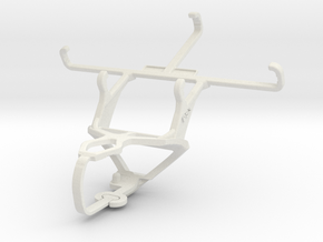 Controller mount for PS3 & Samsung Galaxy Core II in White Natural Versatile Plastic