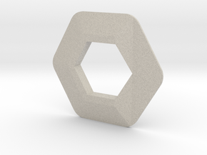 Voxel Material Sample - ALL MATERIALS in Natural Sandstone