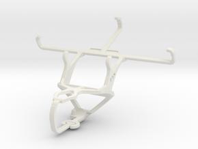Controller mount for PS3 & Vertu Signature Touch in White Natural Versatile Plastic