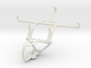Controller mount for PS3 & verykool SL5000 Quantum in White Natural Versatile Plastic