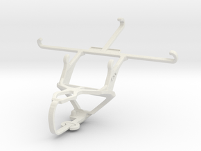 Controller mount for PS3 & vivo X3S in White Natural Versatile Plastic