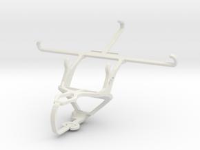 Controller mount for PS3 & vivo X5Max Platinum Edi in White Natural Versatile Plastic