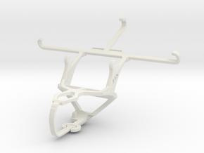 Controller mount for PS3 & vivo X5 in White Natural Versatile Plastic
