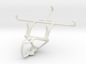 Controller mount for PS3 & XOLO Q1000 Opus2 in White Natural Versatile Plastic