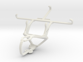 Controller mount for PS3 & Yezz Billy 4.7 in White Natural Versatile Plastic