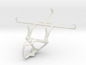 Controller mount for PS3 & ZTE Grand S3 in White Natural Versatile Plastic