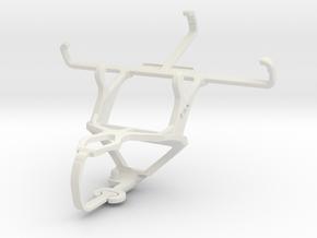Controller mount for PS3 & ZTE Nova 4 V8000 in White Natural Versatile Plastic