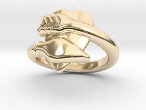Cupido Ring 27 - Italian Size 27 in 14K Yellow Gold