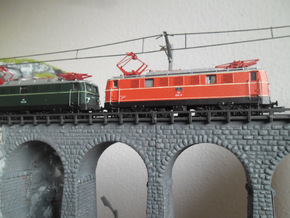 ÖBB 1041 in 1:160 in Smoothest Fine Detail Plastic
