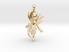 My Little Pony - Alicorn Pendant in 14k Gold Plated Brass