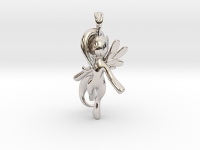 My Little Pony - Alicorn Pendant in Rhodium Plated Brass