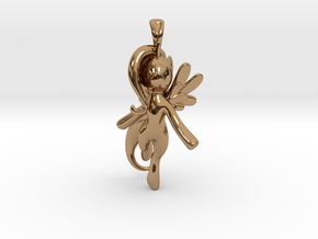 My Little Pony - Alicorn Pendant in Polished Brass