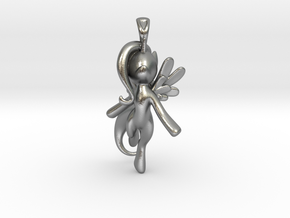 My Little Pony - Alicorn Pendant in Natural Silver