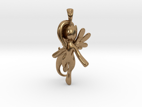 My Little Pony - Alicorn Pendant in Natural Brass