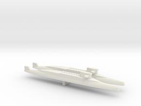 FS Redoutable-class SSBN x 2, 1/2400 in White Natural Versatile Plastic