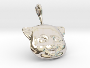 Happi Kitti in Rhodium Plated Brass