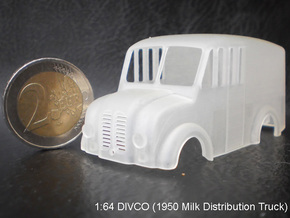 Divco Cab-V4 in Frosted Ultra Detail