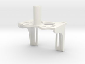 Servo-houder-opt-2mm in White Natural Versatile Plastic