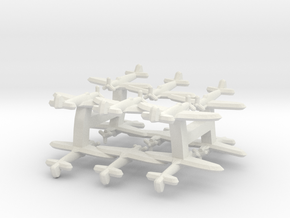 Fairey Firefly (Triplet) 1:900 x4 in White Natural Versatile Plastic