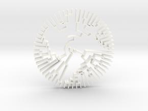 TRPV1 Flat in White Processed Versatile Plastic